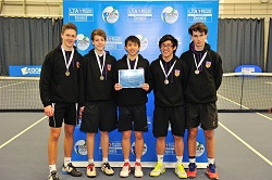 Boys National finalists from UK, Lithuania, China and Germany