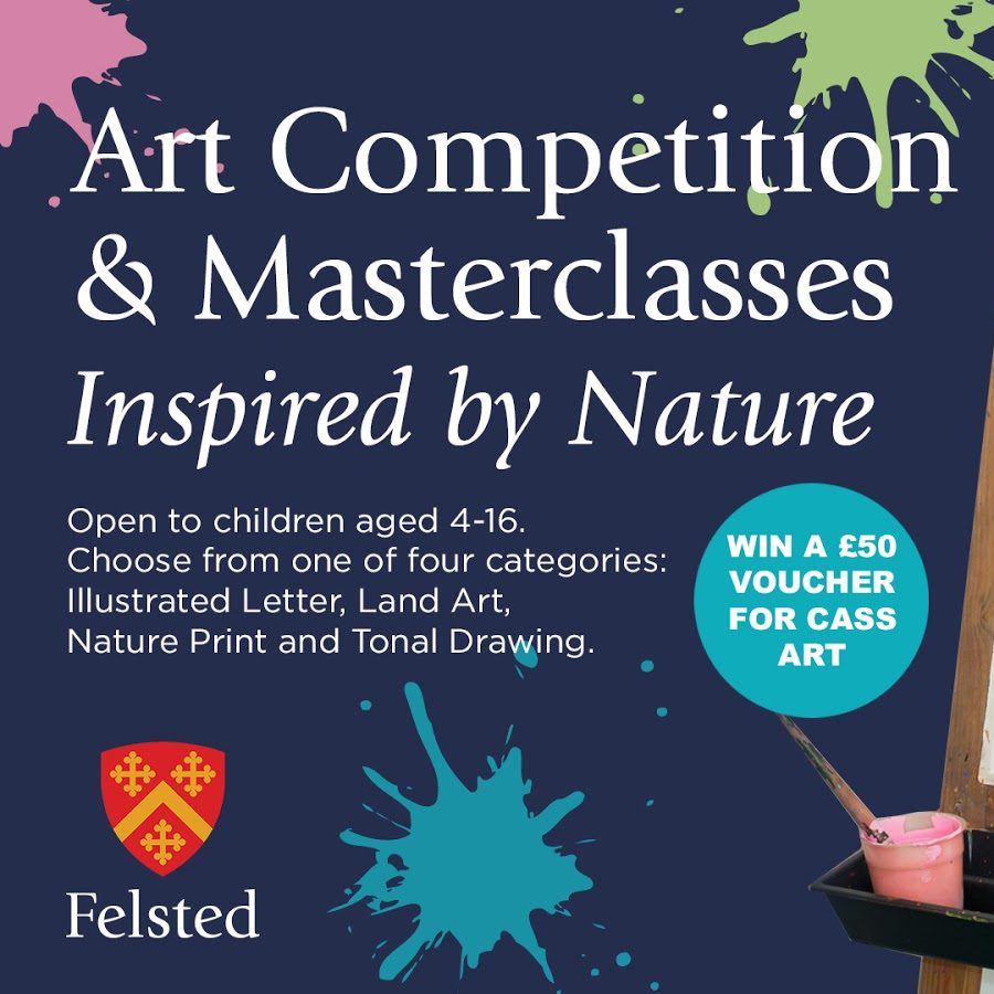 Felsted Launches Inspiring Art Competition and Masterclasses