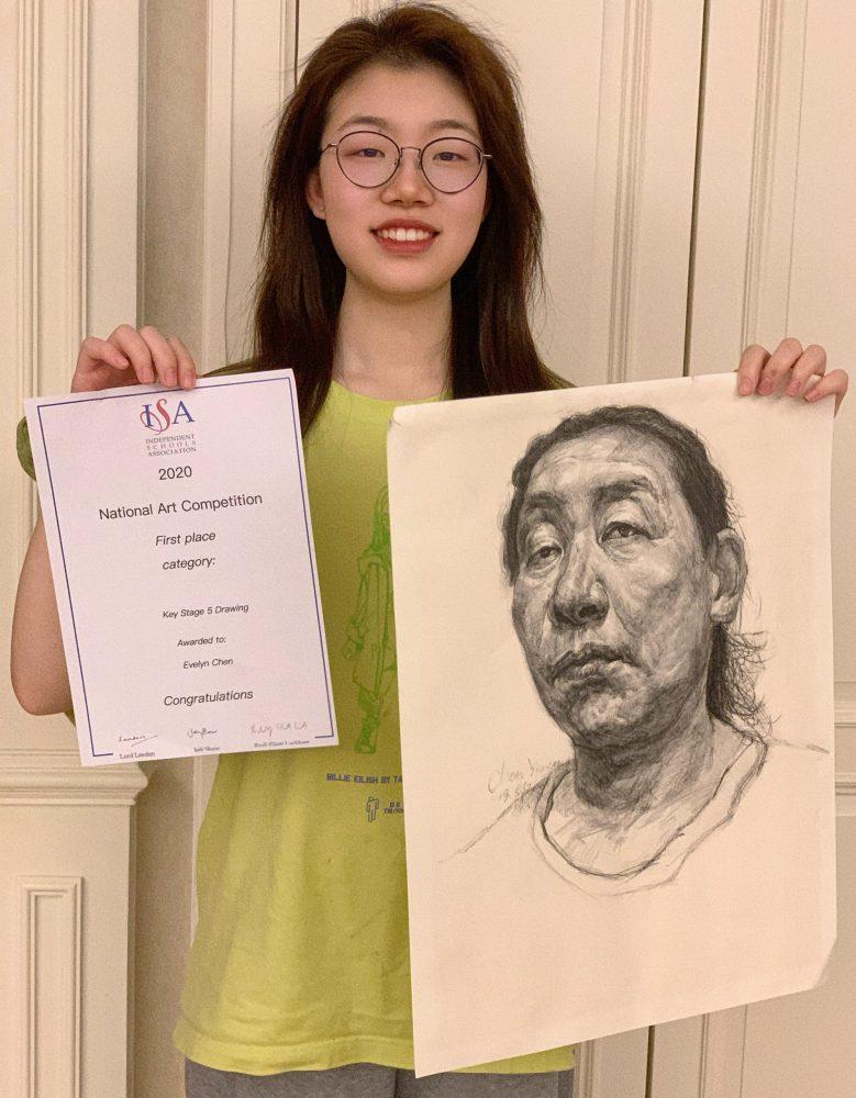 LVS Ascot student wins national art award
